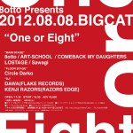 「One or Eight」ポスター