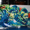 adidas football carnival live painting