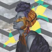 Alicia Keys  -2016 Acrylic on canvas