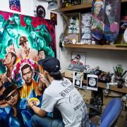 JPzFLYer  -2015 Acrylics on canvas