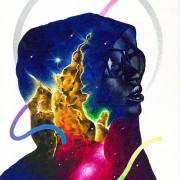Maria  -2015 Acrylics on canvas