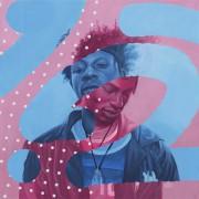 Joey Badass  -2017 Acrylic on canvas