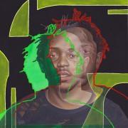 kendrick Lamar -2017 Acrylic on canvas