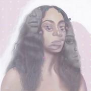 Solange -2017 Acrylic on canvas